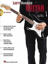 Left-Handed Guitar Technique Learn to Play Method TAB Music Book & CD