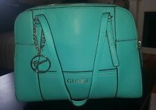 GUESS TEAL GREEN BLUE HANDBAG BAG PURSE