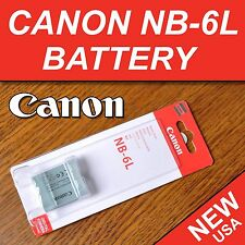 New Battery NB-6L for Canon Powershot SX260, SX280, SX510, SX600, SX610 HS