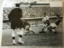 photo press football   World Cup 1958  Finale Brazil- Suede            240