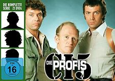 21 DVDs * DIE PROFIS - KOMPLETT BOX - SEASON / STAFFEL 1 - 4 # NEU OVP (