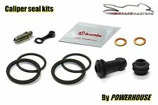 Triumph Rocket 3 04-14 rear brake caliper seal repair rebuild kit 2012 2013 2014