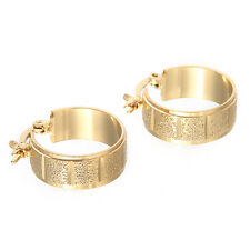 Unique 14K Yellow Gold Plated Women's Wedding Jewelry Earrings Gift E201