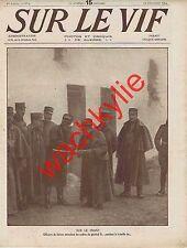 Sur le vif n°5 du 12/12/1914 Inondations de l'Yser Ramscapelle Dixmude