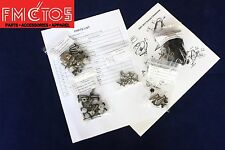Complete Fairing Bolt Kit body screws for Honda CBR929RR 2000-2001 Stainless