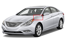 Fender Chrome Molding Garnish 2011-2014 Sonata Left Driver Side Fender Trim