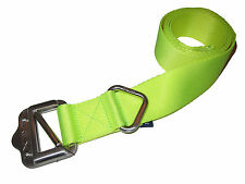 RLX Ralph Lauren Polo Neon Yellow Nylon Web Slide Buckle Golf Belt Medium