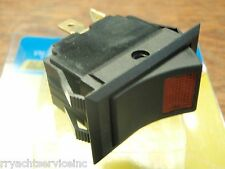 ROCKER SWITCH SEACHOICE 12421 LIGHTED ON(RED)OFF BOATINGMALL STORE EBAY BOATS