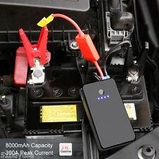 8000mAh Portatile Auto Jump Starter LED Booster Batteria Avviatore di Emergenza