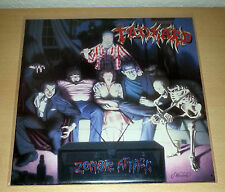 TANKARD - Zombie Attack LP 1st.press 1986 NOISE # Sodom Kreator Destruction