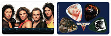 Van Halen Band PikCard Custom Collectible Guitar Picks (4 picks per card)