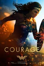 Wonder Woman Movie Poster (24x36) - Gal Gadot, Chris Pine v4