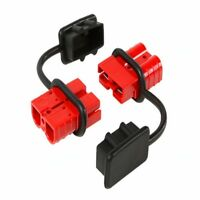 FOR SY 175 AMP ANDERSON PLUG DUST COVER END CAP CONNECTOR (RED RUBBER)