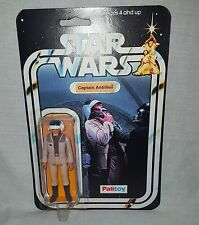 VINTAGE CUSTOM UNPRODUCED KENNER STAR WARS CAPTAIN ANTILLIES FIGURE PALITOY MOC