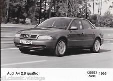PRESS - FOTO/PHOTO/PICTURE - Audi A4 2.8 Quattro 1995