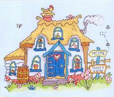 "Bothy Threads Counted Cross Stitch Kit ""Sew Dinky Cottage"""