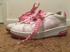 Heelys White And Pink Sz 3 Great Condition
