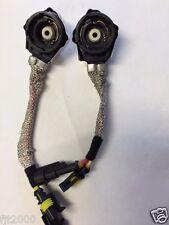 2x AMP TO D2S D2R D4R D4S Hid converter adapter plug DENSO OEM Metal housing