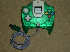 SEGA DREAMCAST OFFICIAL CLEAR GREEN CONTROLLER Game Pad Transparent Genuine Lime