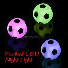 Color Changing LED Xmas Mood Lamp Night Lamp Football Light Party Decoration