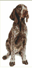 CROSS STITCH KIT - GERMAN POINTER  11 X26 CM