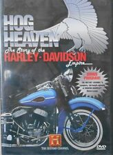 DVD  HOG HEAVEN The story of the Harley-Davidson Neuf
