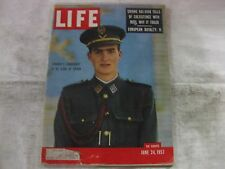 Life Magazine June 24th 1957 Franco Candidate King Of Spain Publisher Time mg583
