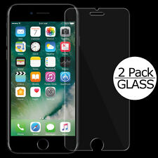 for iPhone 7 Tempered GLASS Screen Protectors (2 Pack) Bubble Free