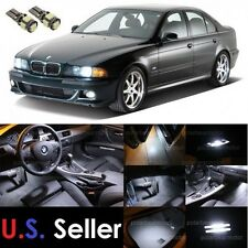 1997-2003 BMW E39 5-Series M5 LED SMD Lights Interior Package Kit 18Pcs White