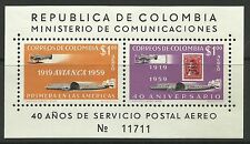 COLOMBIA. 1959. AVIANCA Miniature Sheet. SG: MS1000. Mint Never Hinged.
