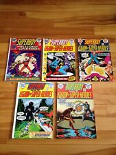 Superboy And Legion Of Super-heroes # 197-201