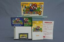 (T2E17) SUPER MARIO ADVANCE 4  GAMEBOY ADVANCE GBA NINTENDO