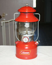 Coleman Red Model 200A Single Mantle Lantern Dated 2/60 NICE