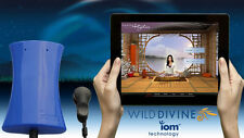 *New* IOM's Blue Wireless from Wild Divine Biofeedback