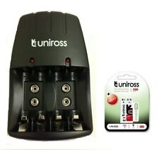UNiROSS AA/AAA/PP3 9v CHARGER 1 x PP3 200 SERIES HYBRIO