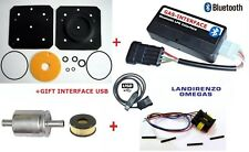 LPG LANDI RENZO X6:Verdampfer Reparatursatz IG1+INTERFACE BLUETOOTH+USB+FILTER++