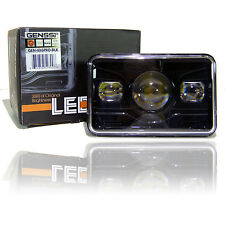 GENSSI 4x6 LED Projector Headlight Sealed Beam Headlamp HID Xenon Replacement 1x