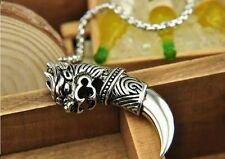 Dragon Claw Werewolf Talon Necklace Buddha Zen Wolf Spirit Tribe Steel Gift