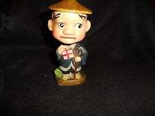 """Vintage Bobblehead Nodder Boy with books--I have no Idea what this one is 5 1/2"""""""