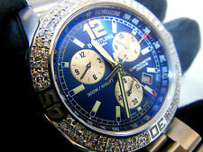 BREITLING COLT CHRONOGRAPH II 44MM, ORIGINAL WITH GENUINE DIAMONDS, DOCUMENTS