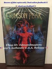 Crimson Peak 2016 DVD Brand New Sealed Ships Fast (BEWARE OF CHEAP FAKES SOLD)