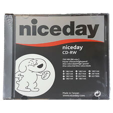 Nice Day High Speed CD-RW | 700mb (80 min) | 10 Pack