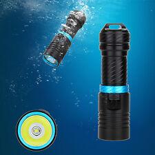 Neu Underwater 100m 5000LM CREE XM-L2 LED Scuba Diving Flashlight Taschenlampen