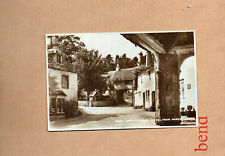 Castle combe Wiltshire From Market cross Real photo sepia unposted  art