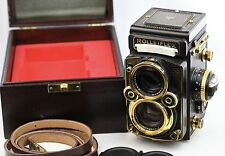 *RARE* Rolleiflex 2.8F Aurum Gold Edition TLR Camera w/Xenotar 80mm F/2.8 Lens
