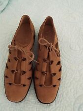New Womens Clarks Suede Shoes Size 9M