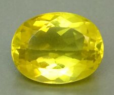 Top Citrine: 22,63 CT NATURALE LIMONE GIALLO LEMON CITRIN dal Brasile