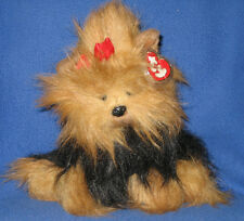 TY CLASSIC PLUSH - YAPPY the DOG - MINT with MINT TAG - PRICE STICKER on BACK