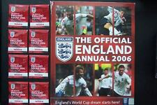 Official FA England Football Soccer Annual 2006 Import Hardcover Extras Rare