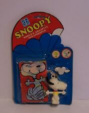 Vintage Snoopy World's Greatest Paratrooper Aviva Toy Peanuts Hasbro 1970's